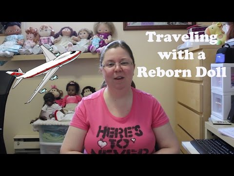 Traveling with a Reborn Doll - Doll Break Ep. 186