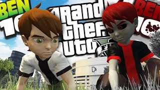 The EVIL Ben 10 MOD (GTA 5 PC Mods Gameplay)