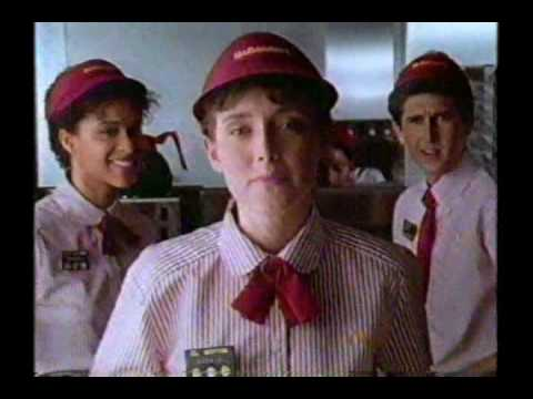 1989 mcdonalds menu song commercial hq youtube