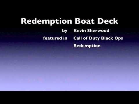 """Call of Duty: Black Ops - """"Boat deck"""" Redemption single player music Kevin Sherwood"""