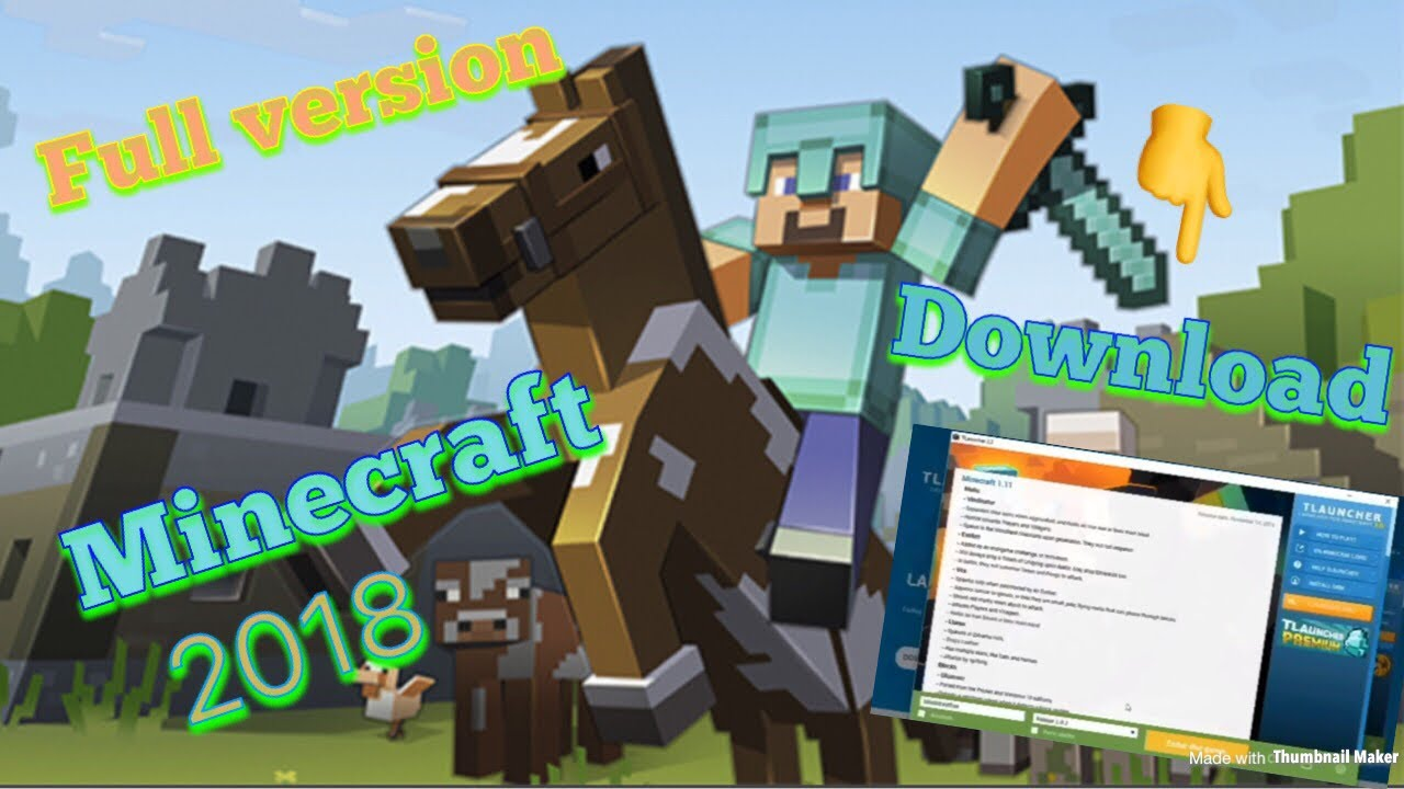 How To Download Full Version Minecraft In Pc 2018-2019 ...