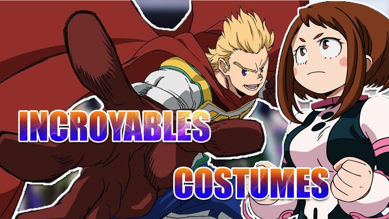 LES 5 MEILLEURS COSTUMES DE MHA - My Hero Academia