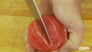 How To Segment Citrus - Chow Tip