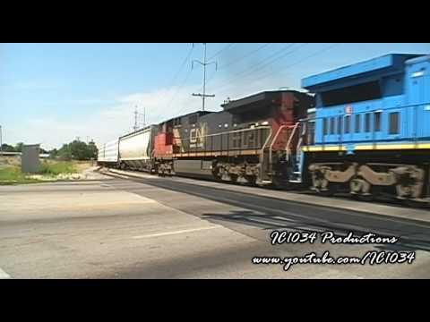 Railfanning Central Illinois Compilation, Vol. 1