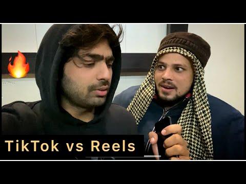 Tiktok vs Reels   zayn saifi   Talib saifi