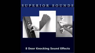 8 Knocking On Door Sound Effects