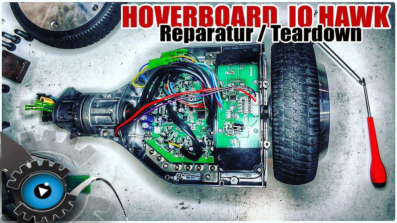 Hoverboard / Monorover R2 / IO HAWK Gehäuse Rahmen Akku Wechseln ...