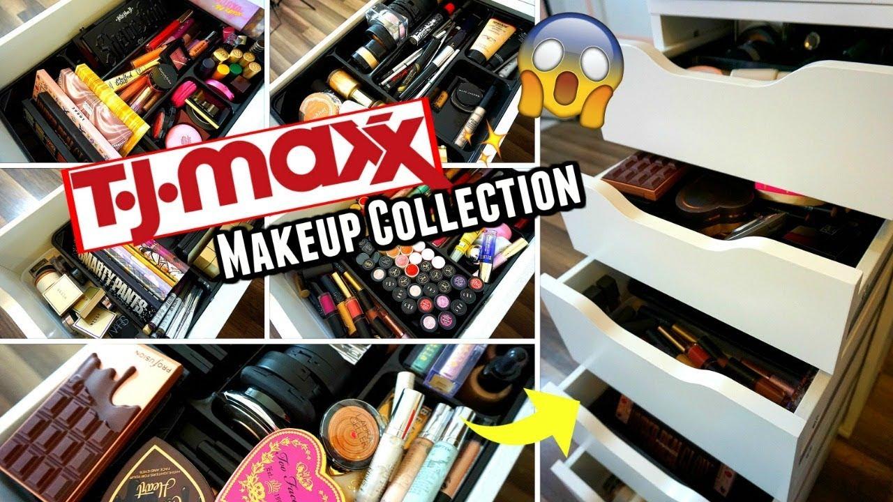 Tj Maxx Makeup Collection Organization 2019 Youtube