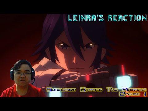 LeinRa's Reaction - Gunslinger Stratos The Animation Episode 1