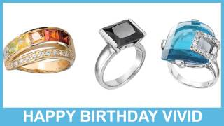 Vivid   Jewelry & Joyas - Happy Birthday