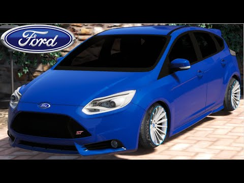 gta v mods ford focus st rebaixado youtube. Black Bedroom Furniture Sets. Home Design Ideas