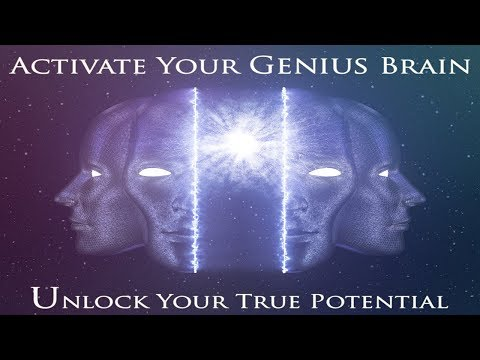 🎧 Genius Frequency | 100% Brain Potential | Genius Brain Power | Simply Hypnotic