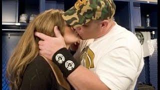 John Cena kisses Bella Twins  | wwe ✔