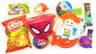 Kinder joy , chocolates and other surprises