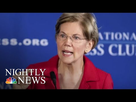 Elizabeth Warren Releases DNA Results Indicating She Has Native American Heritage | NBC Nightly News