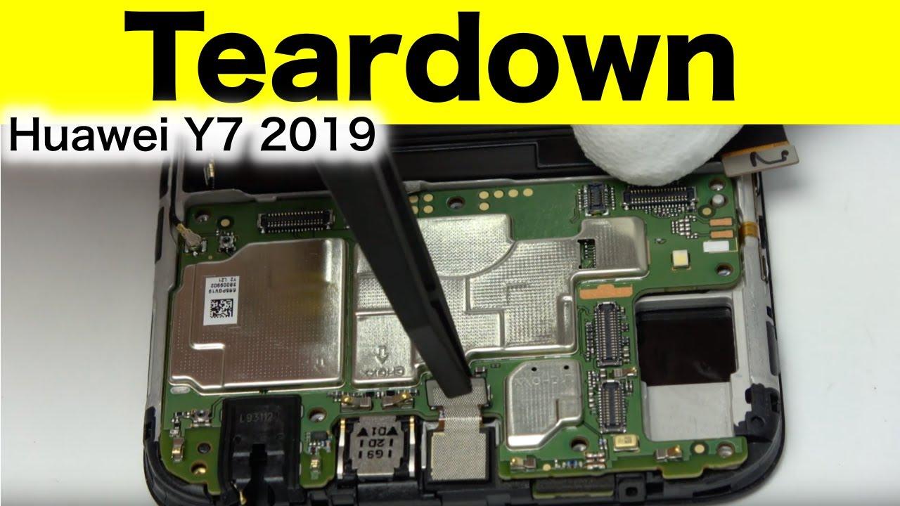 Huawei Y7 2019 Teardown and Reassemble