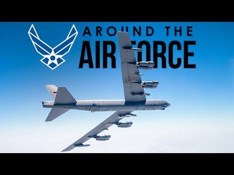 Around the Air Force:  Launch Vehicles  / B-52 Leaflet Drops / B-1B Talisman Saber