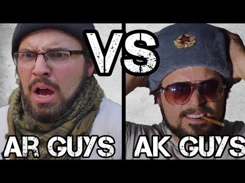 AR Guys Vs AK Guys #3 - Purists, Fudds, Coffee