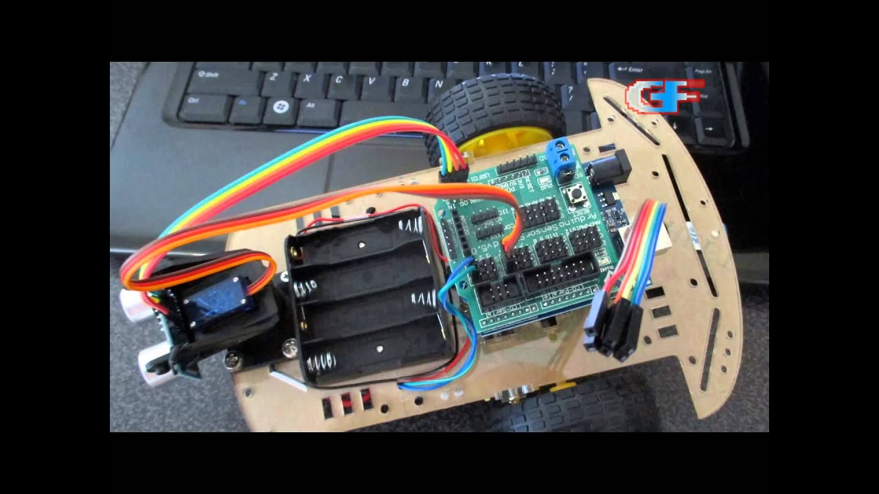 Smart Robot Car: Part 5  Wiring and Arduino Infrared (IR) Control Program  YouTube