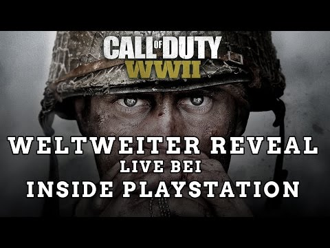 Call of Duty WWII - Deutscher Livestream mit ViscaBarca, MarcelScorpion und AimBrot!