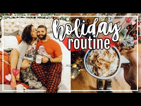 COZY WINTER EVENING ROUTINE 2018  HOLIDAY NIGHT ROUTINE FaLaLaFridaysWithPage Page Danielle