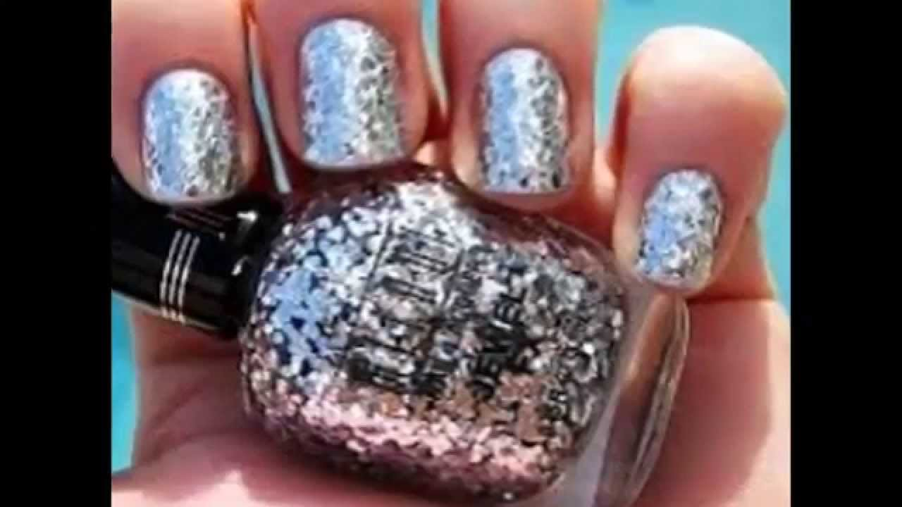 Silver design nails 2015 2016 2017 youtube prinsesfo Gallery