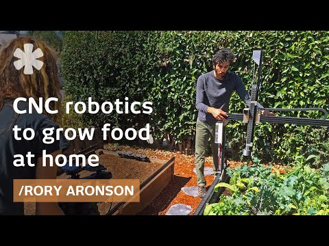FarmBot: Open Source Backyard Robot For A Fully Automated Garden   YouTube
