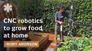 FarmBot: open source backyard robot for a fully automated garden thumbnail