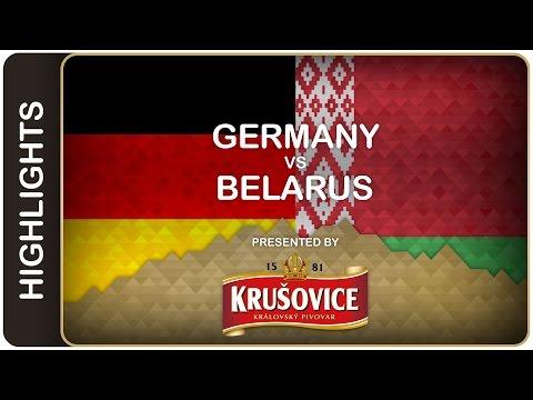 Germany breaks the spell against Belarus - Germany-Belarus HL - #IIHFWorlds 2016 - 동영상