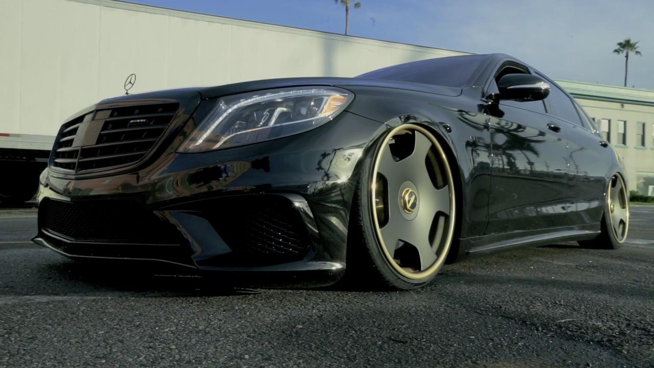 El Chapo Bagged Mercedes Benz S63 Bagsbyboden Youtube