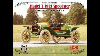 """Обзор! Model T 1913 """"Спидстер"""", Американский Спортивный Автомобиль Арт. 24015"""