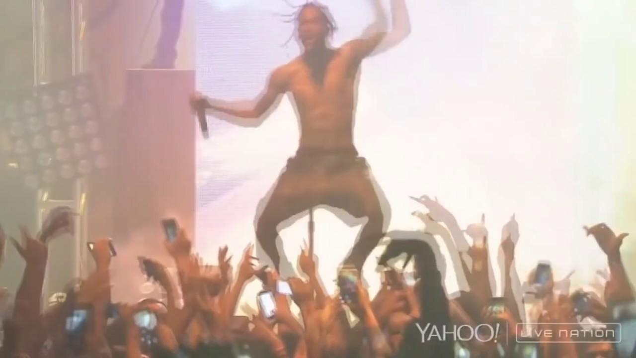 9e0d99026d54 Travis Scott live shows are fucking Insane (concert compilation ...