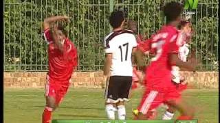 مباراة المنتخب السوداني و المنتخب المصري للشباب الشوط الاول