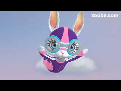 Zoobe Зайка -Поздравления для мальчиков . - Популярные видеоролики!
