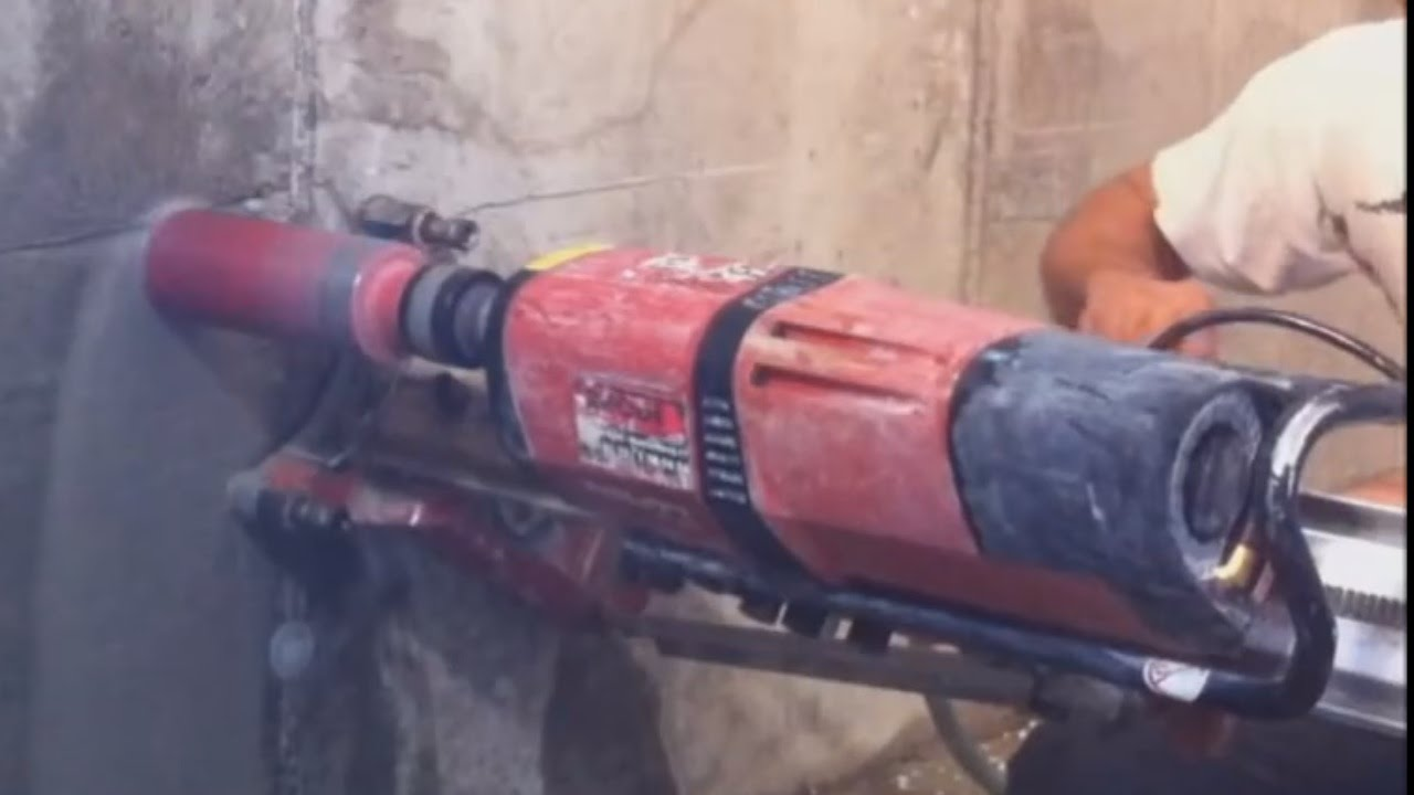 Hilti Dd 350 Komplette Kernbohrung Online Video Hd Youtube