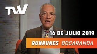 RUNRUNES - Nelson Bocaranda 16-07-2019