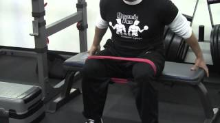 How to Do the Band Seated Hip Abduction Exercise