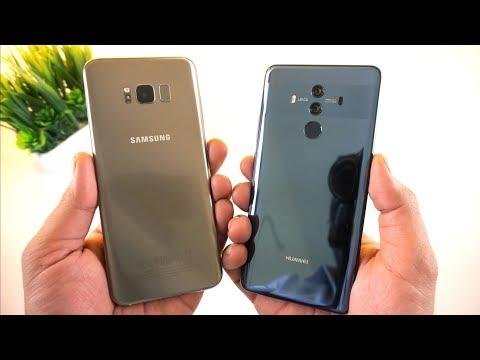 Mate 10 Pro vs Galaxy S8 Plus Speed Test  [Urdu/Hindi]