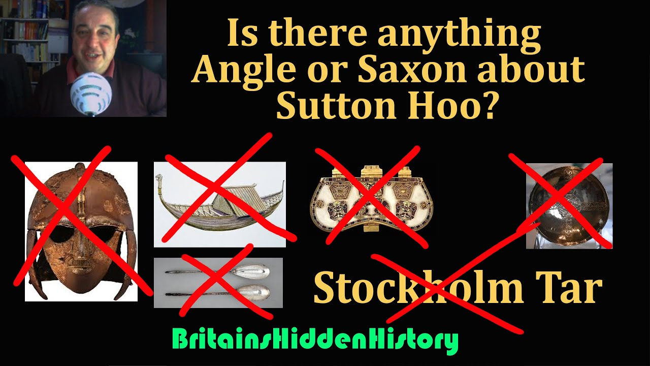 More evidence that Sutton Hoo is not Angle or Saxon!