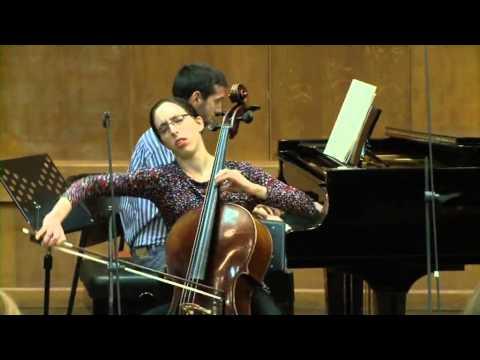 Masterclass with Lynn Harrell (Shulamit Sarid, cello)