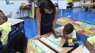 Lead teacher honored in Baltimore City