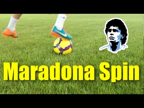 How To Do the Maradona Spin | Tutorial