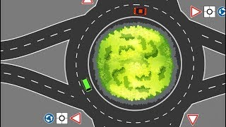 Как вести себя на круговом перекрёстке