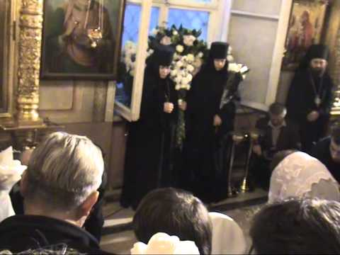 Погребение патриарха Алексия Ll