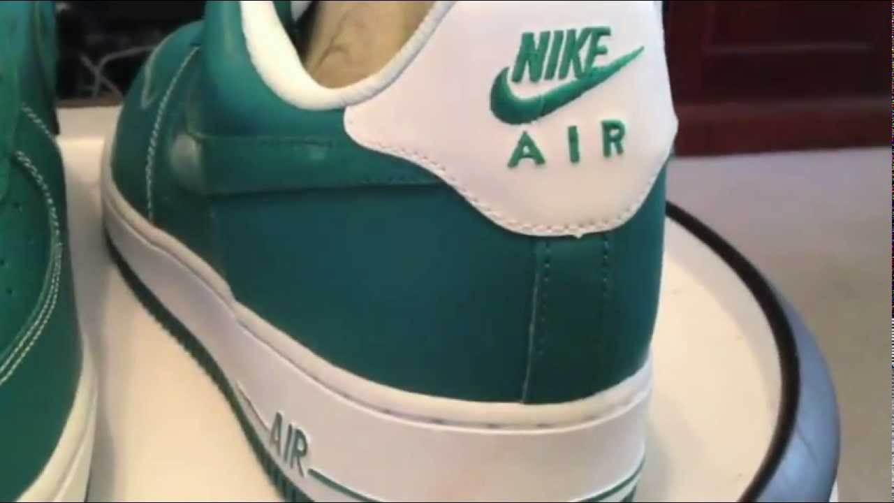 hot sale online de579 4db13 NIKE Air Force 1 Low - Lush Teal   White colorway