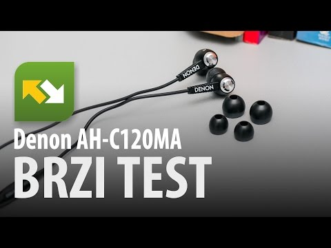 Denon Music Maniac AH-C120MA : brzi test