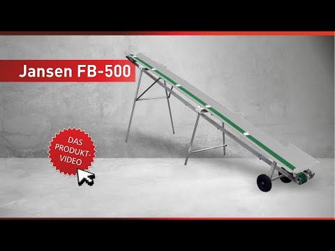 Gemeinsame Förderband Jansen FB-500 - YouTube &CT_55