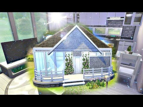 ✩Стартовый, дешевый, современный маленький дом ✩Строительство дома ✩ Sims 4 ✩ Base Game Starter ✩