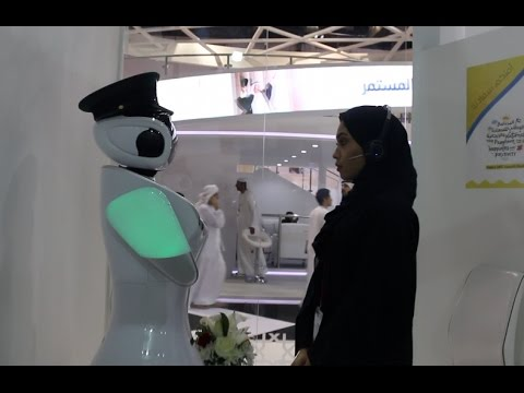 How Dubai Police is using a robot to recruit staff