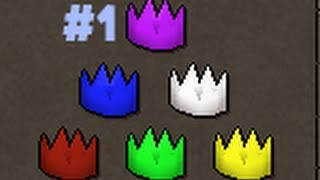 Purple partyhats will be the RAREST phats in 2007 Runescape